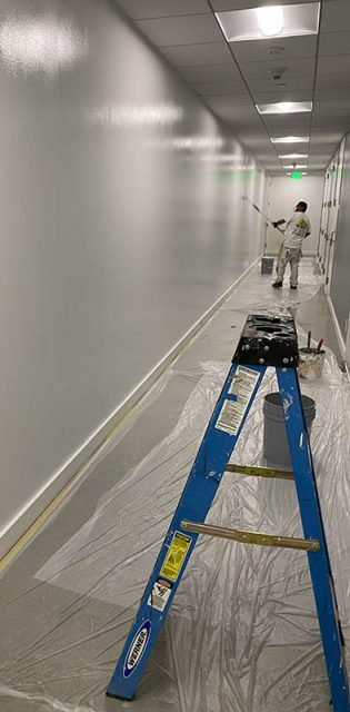 interior-paint-los-angeles-commercial-hallway