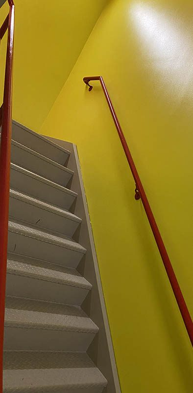 interior-paint-los-angeles-commercial-staircase